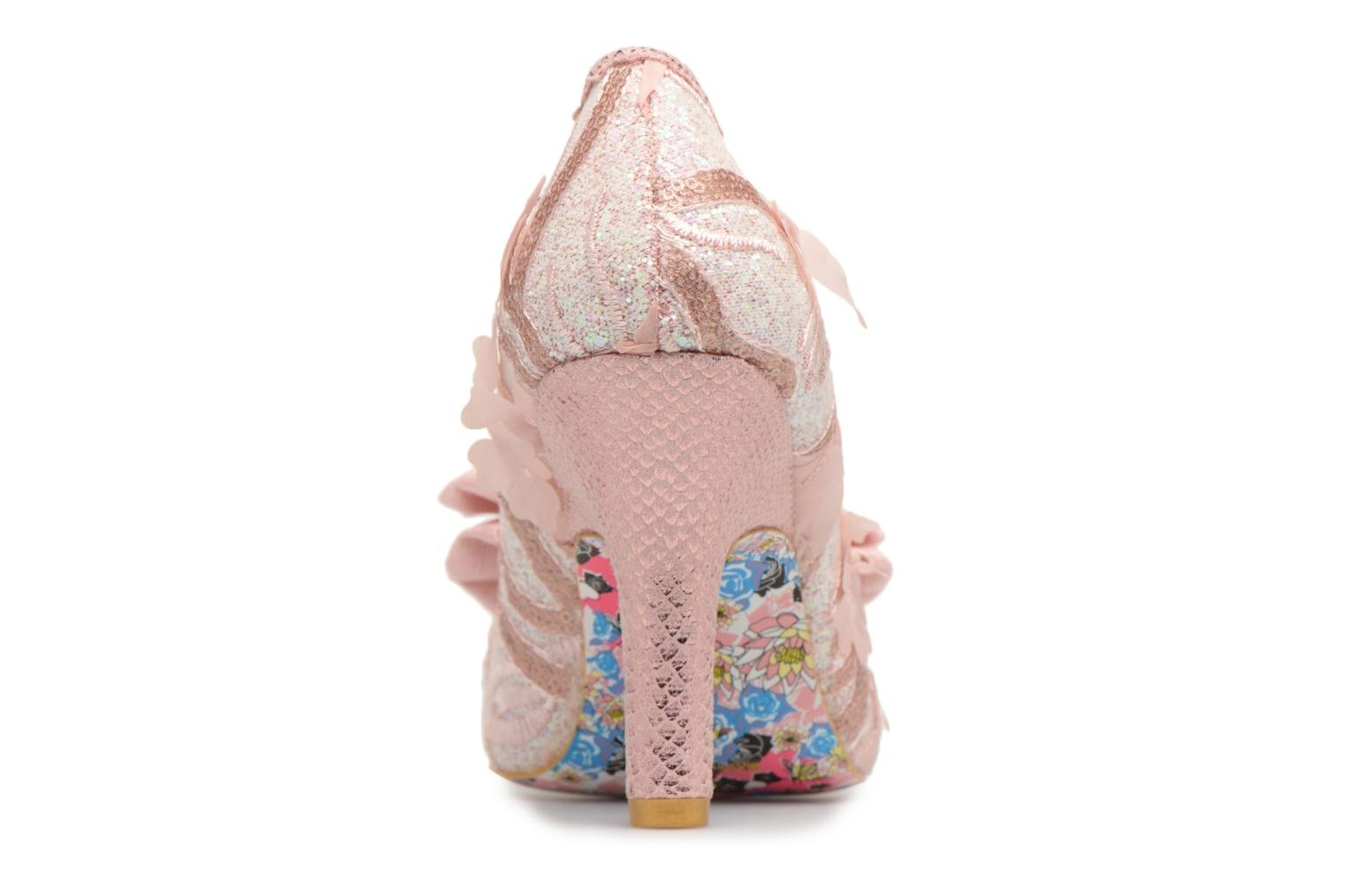 High heels Irregular choice Mal E Bow Pink view from the right