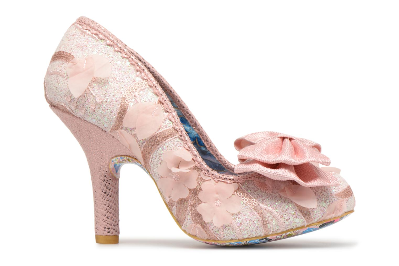 Pumps Irregular choice Mal E Bow Roze achterkant