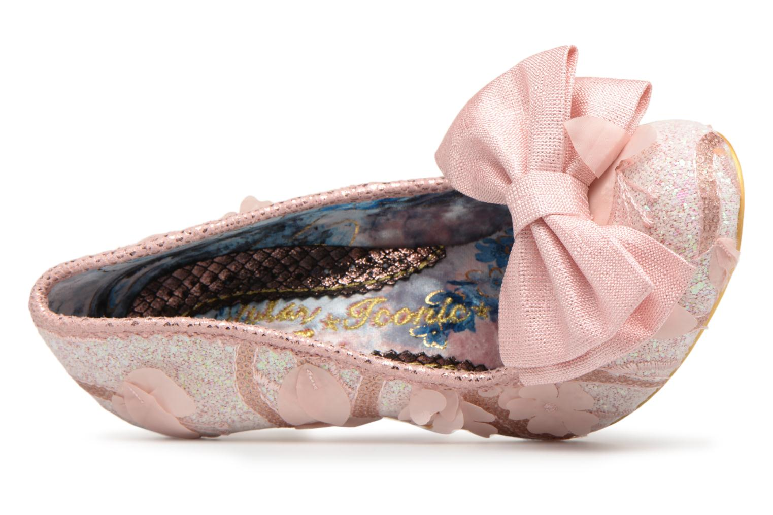 High heels Irregular choice Mal E Bow Pink view from the left