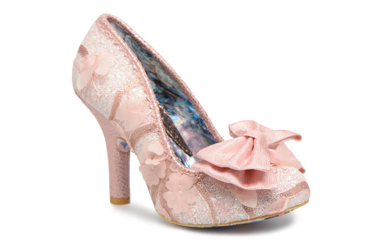 High heels Irregular choice Mal E Bow Pink detailed view/ Pair view