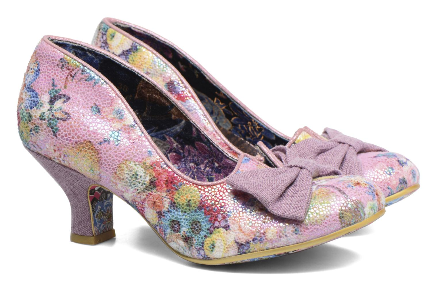 Escarpins Irregular Choice Dazzle Razzle Multicolore vue 3/4
