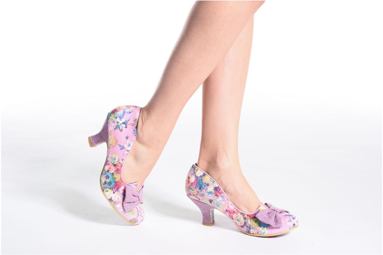 Zapatos de tacón Irregular choice Dazzle Razzle Multicolor vista de abajo