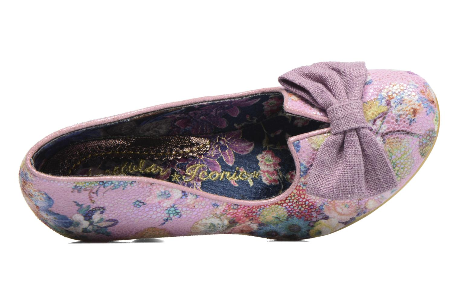 Escarpins Irregular Choice Dazzle Razzle Multicolore vue gauche