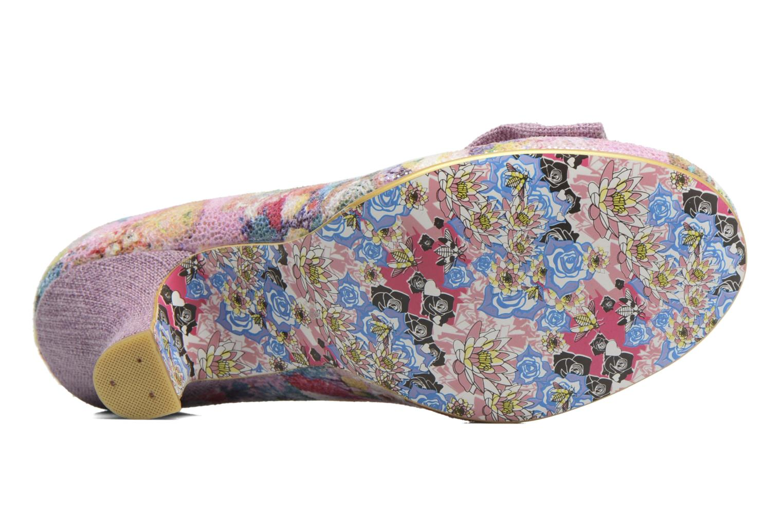 Escarpins Irregular Choice Dazzle Razzle Multicolore vue haut