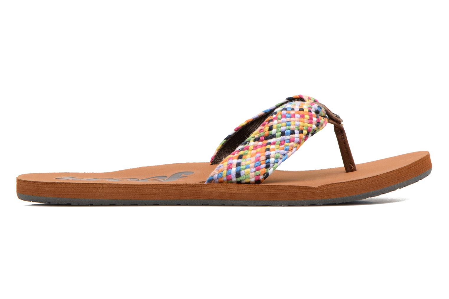 Slippers Reef Mallory Scrunch Multicolor achterkant