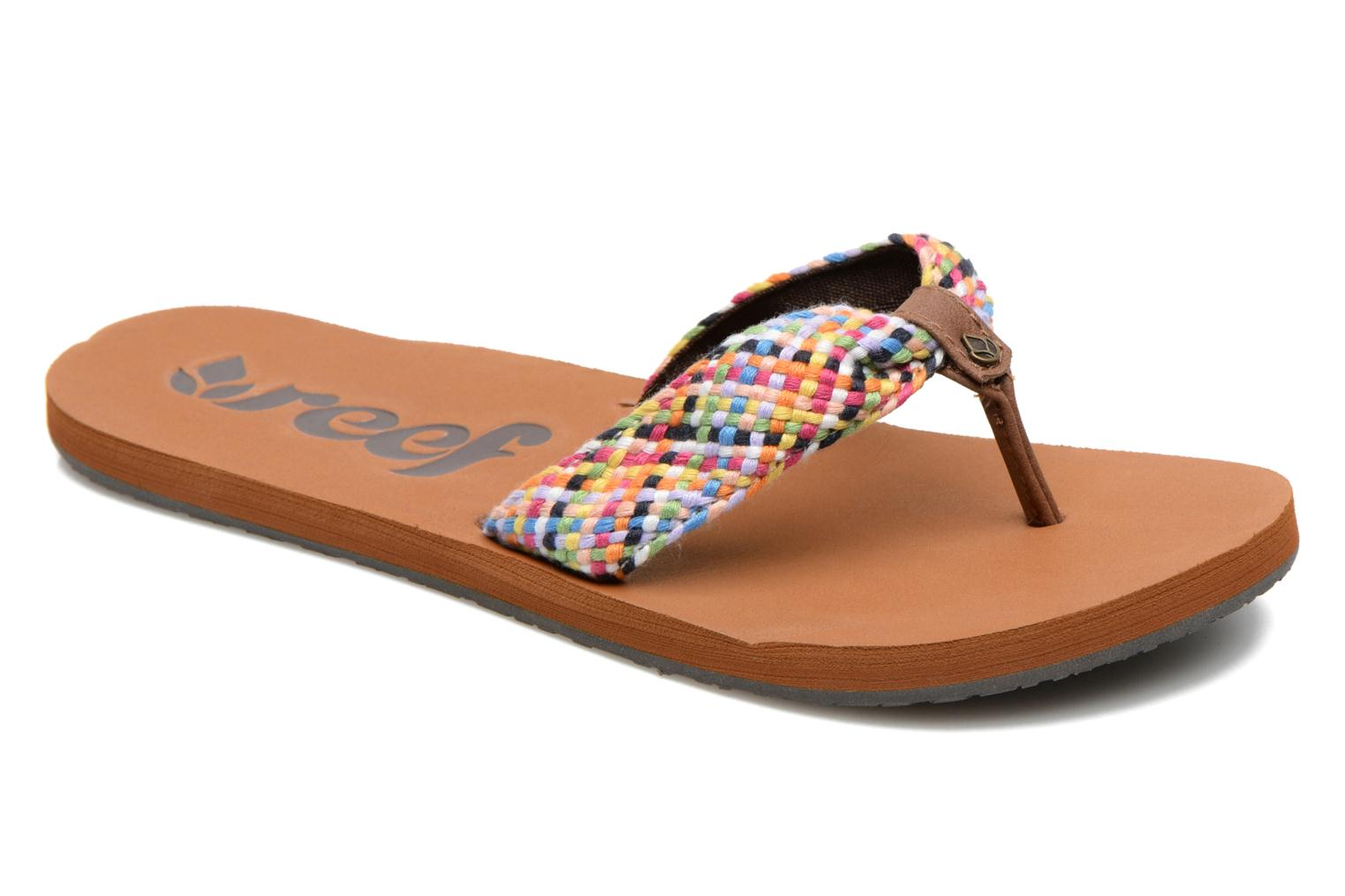 Slippers Reef Mallory Scrunch Multicolor detail