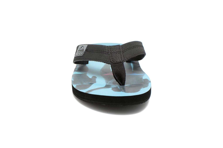Zehensandalen Reef HT Prints schwarz schuhe getragen