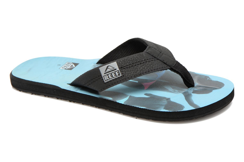 Slippers Reef HT Prints Zwart detail
