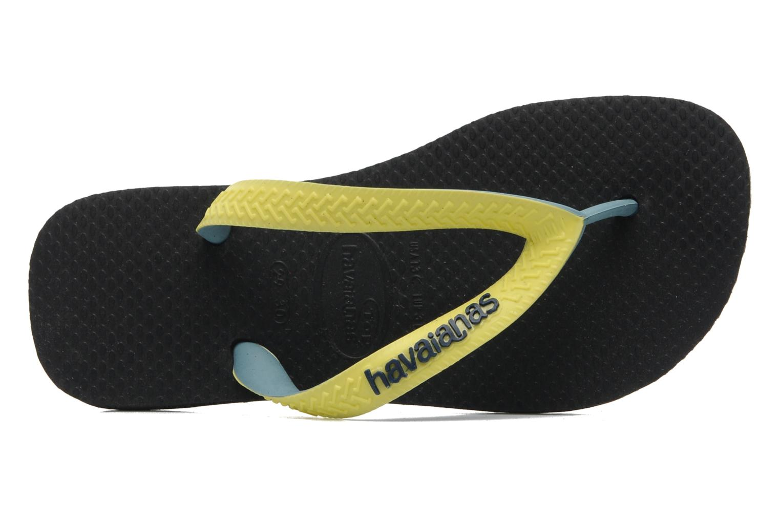 Flip flops Havaianas Top Mix Black view from the left