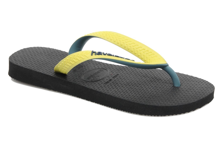 Slippers Havaianas Top Mix Zwart detail