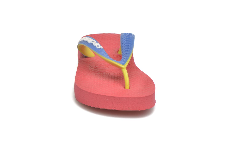 Tongs Havaianas Top Mix Rose vue portées chaussures