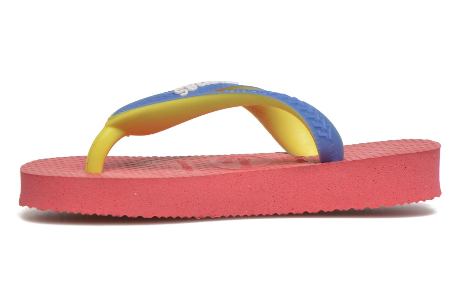 Chanclas Havaianas Top Mix Rosa vista de frente