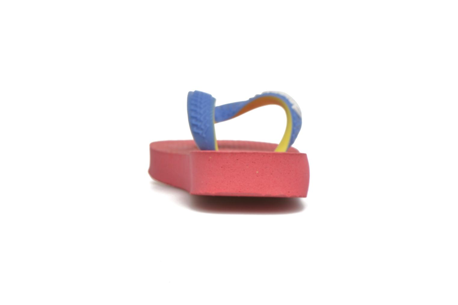 Chanclas Havaianas Top Mix Rosa vista lateral derecha