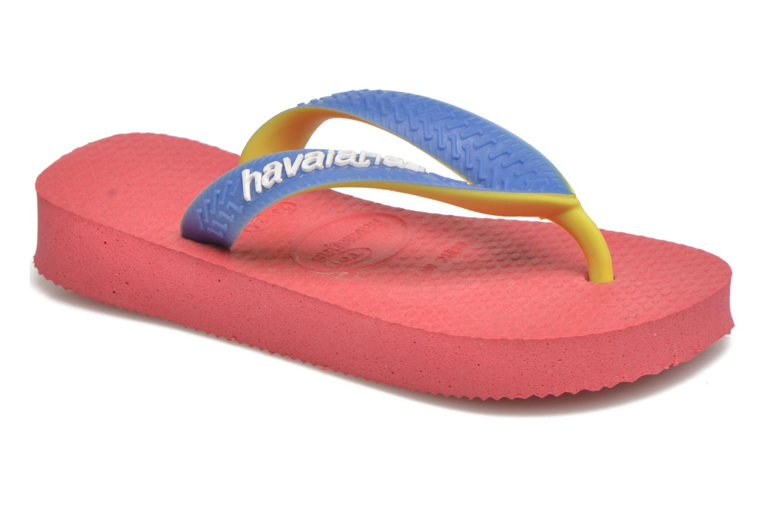 Chanclas Havaianas Top Mix Rosa vista de detalle / par
