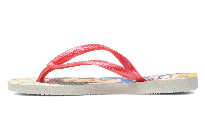 Slippers Havaianas Slim Princess Roze voorkant