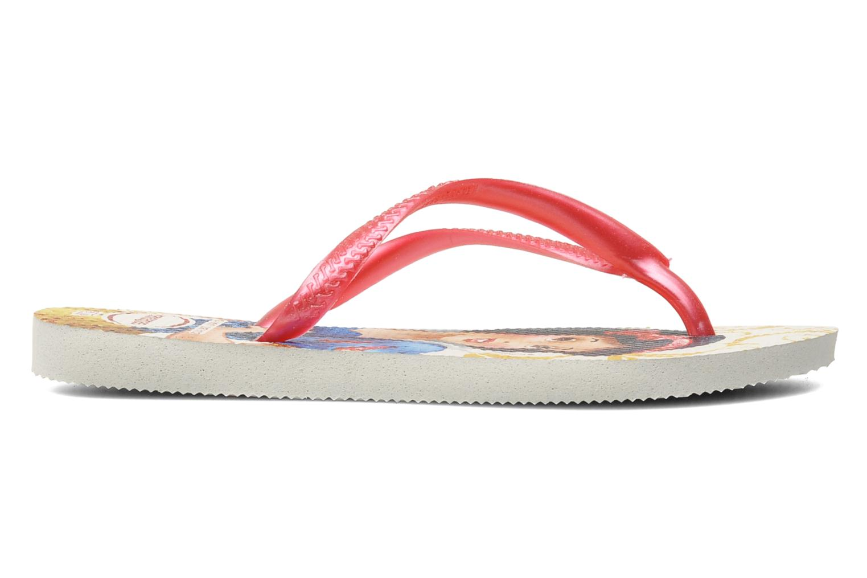 Flip flops Havaianas Slim Princess Pink back view