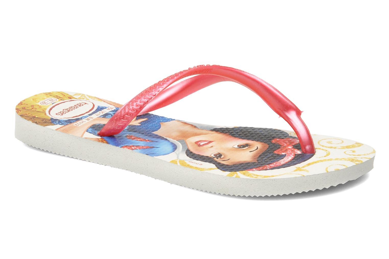 Flip flops Havaianas Slim Princess Pink detailed view/ Pair view