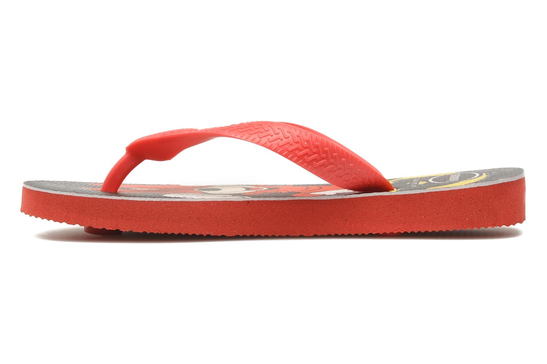 Flip flops Havaianas Disney Stylish Red front view