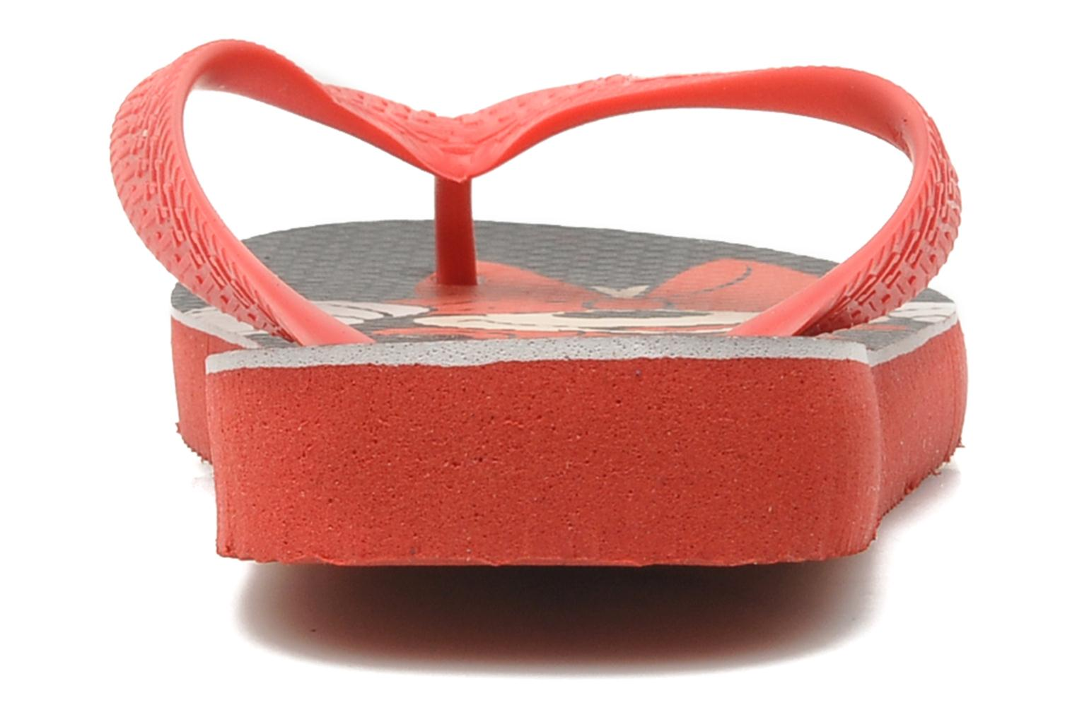 Flip flops Havaianas Disney Stylish Red view from the right
