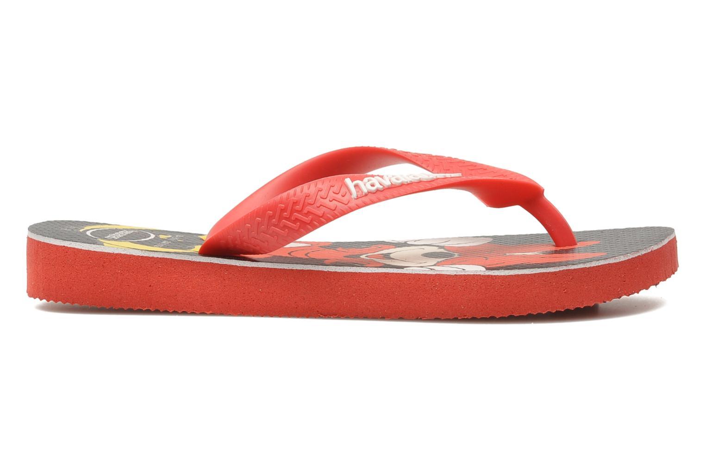 Flip flops Havaianas Disney Stylish Red back view