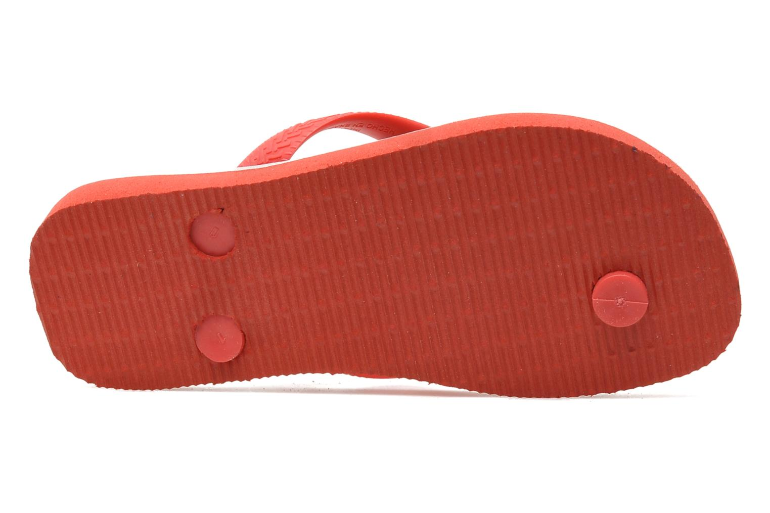 Flip flops Havaianas Disney Stylish Red view from above