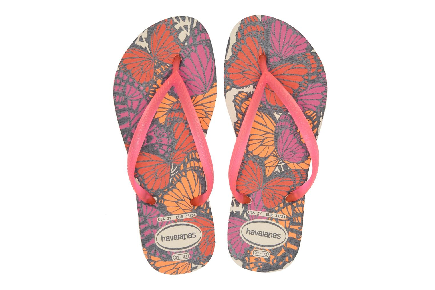 Tongs Havaianas Kids Slim Fashion Multicolore vue 3/4