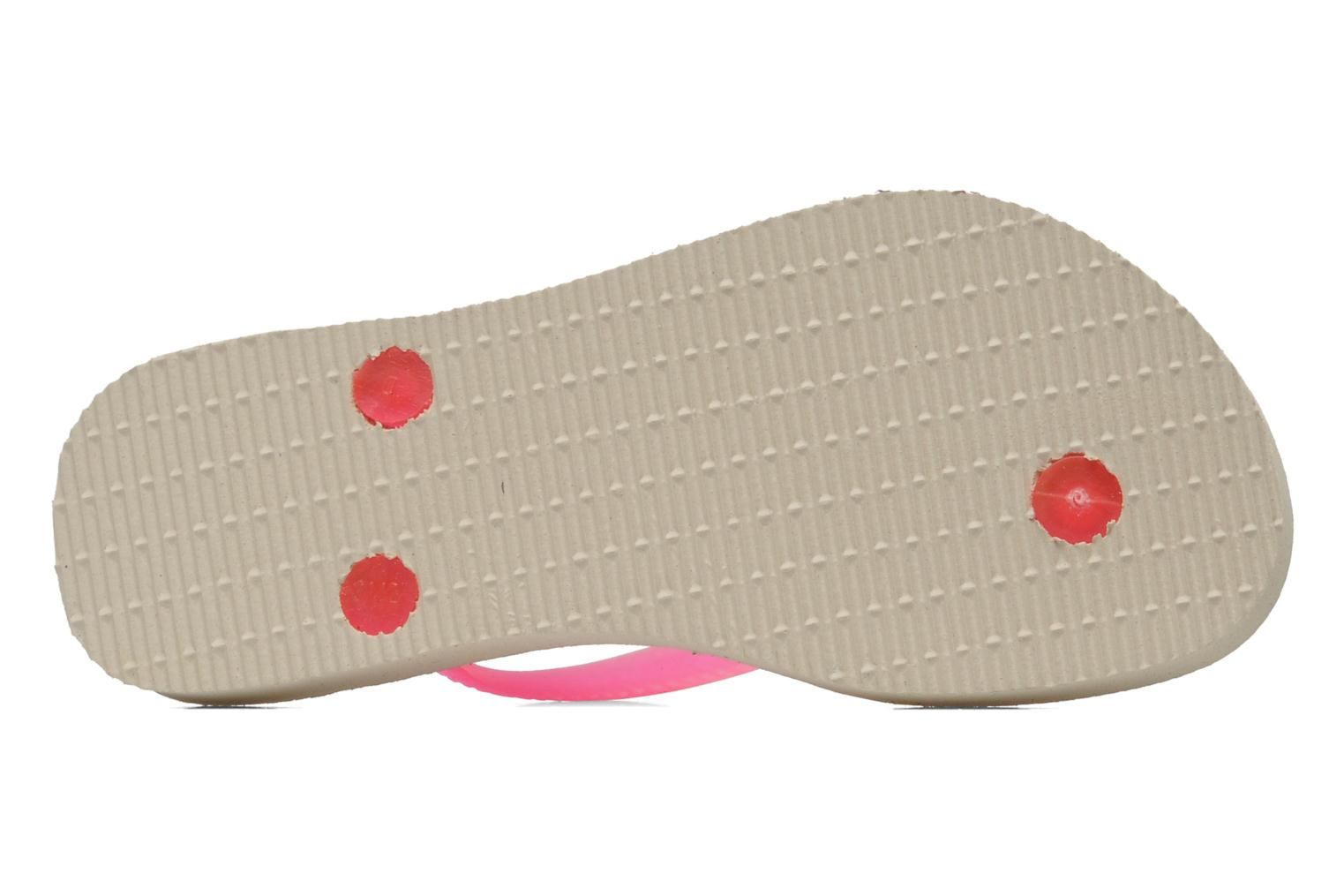 Tongs Havaianas Kids Slim Fashion Multicolore vue haut