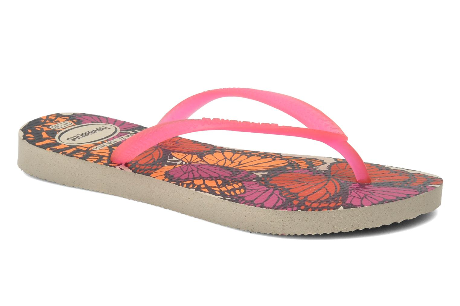 Tongs Havaianas Kids Slim Fashion Multicolore vue détail/paire
