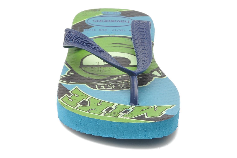 Tongs Havaianas Kids Monster Bleu vue portées chaussures