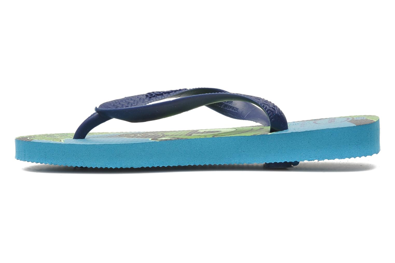 Slippers Havaianas Kids Monster Blauw voorkant