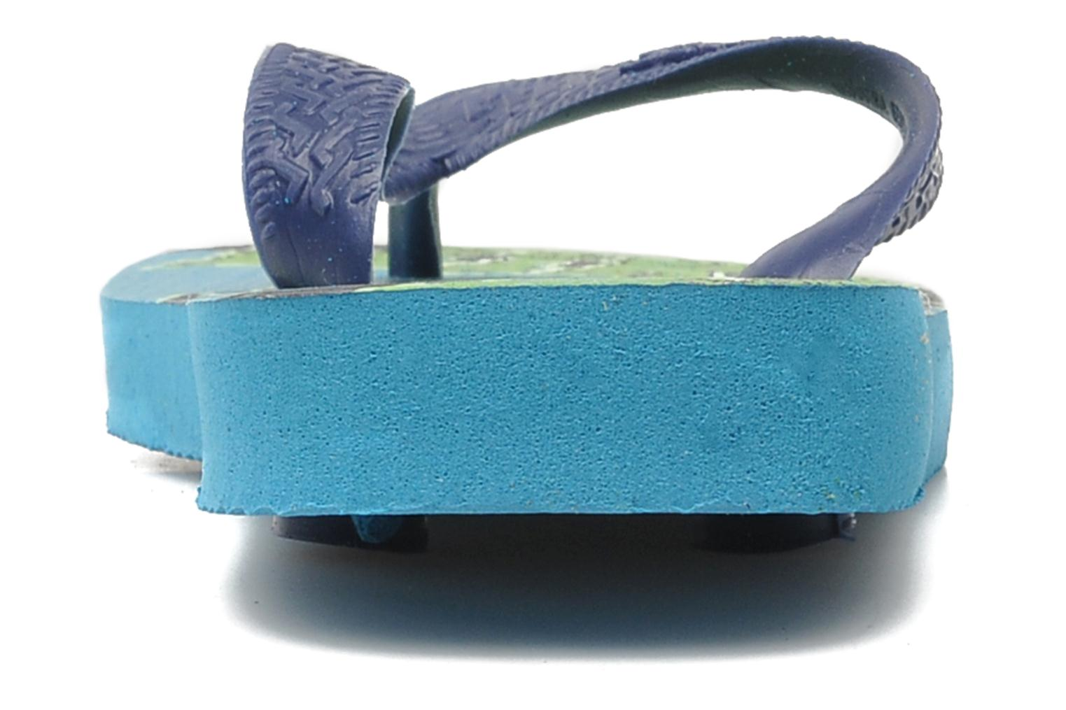 Flip flops Havaianas Kids Monster Blue view from the right
