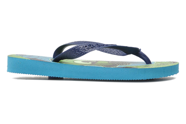Flip flops Havaianas Kids Monster Blue back view
