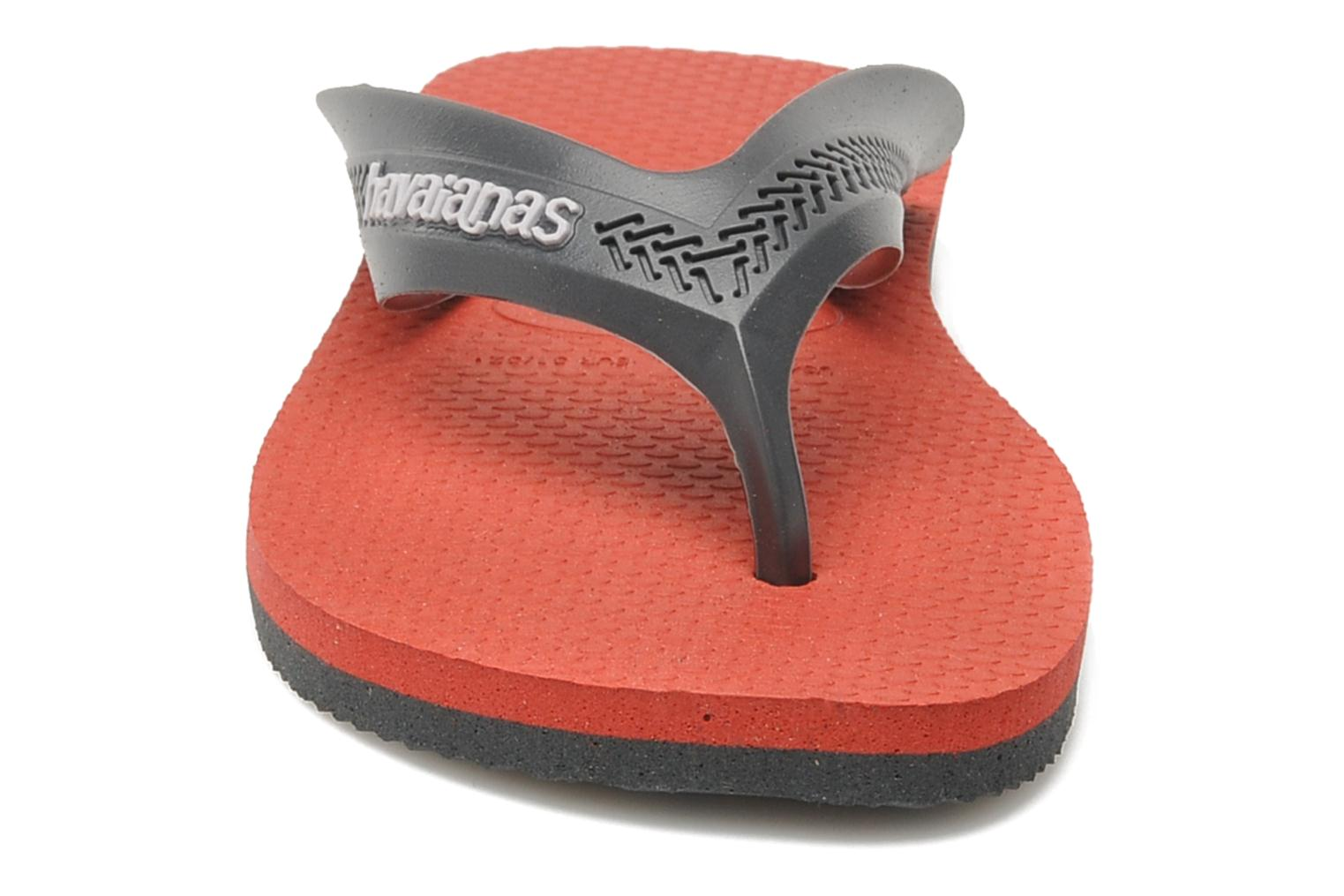 Flip flops Havaianas Kids Max Grey model view