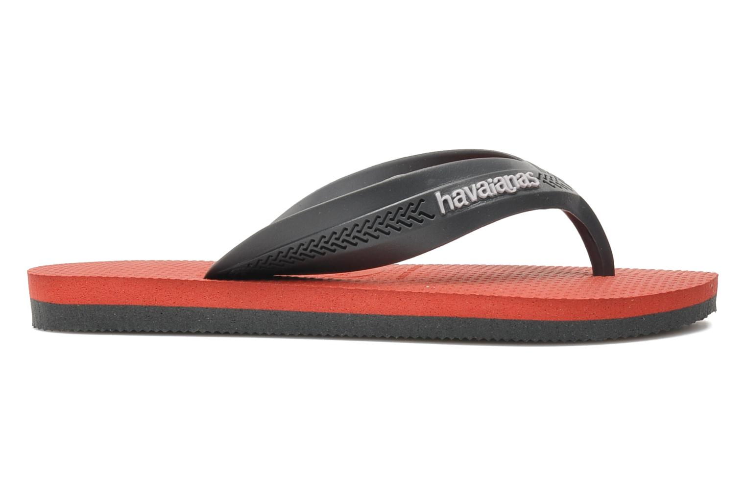Flip flops Havaianas Kids Max Grey back view