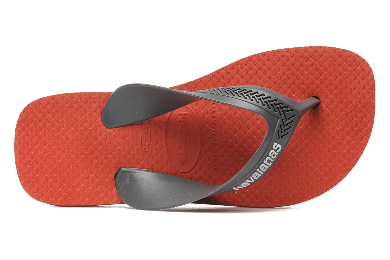 Flip flops Havaianas Kids Max Grey view from the left