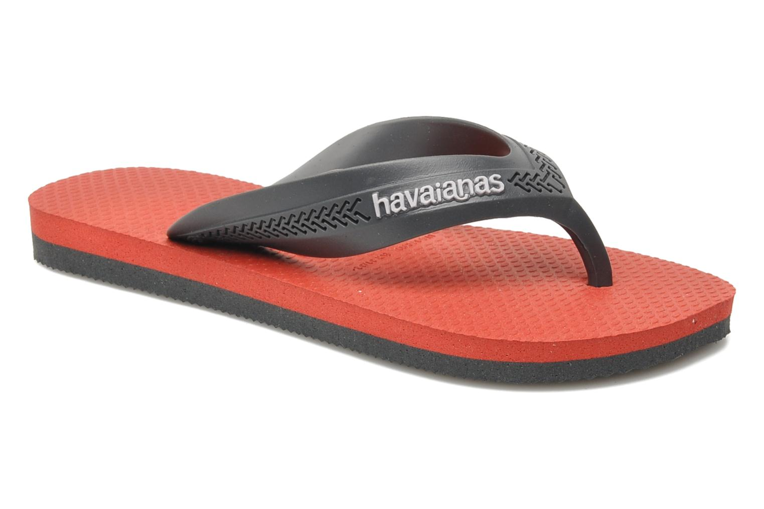 Flip flops Havaianas Kids Max Grey detailed view/ Pair view