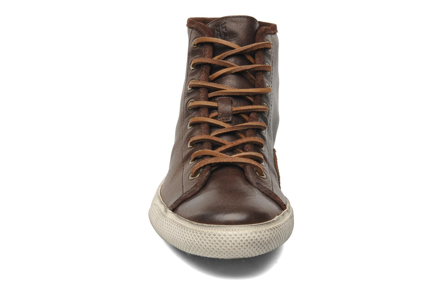 Baskets Frye Chambers High Marron vue portées chaussures