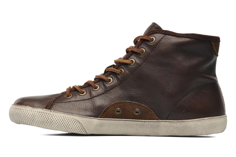 Sneakers Frye Chambers High Bruin voorkant