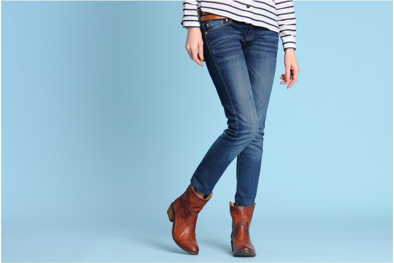 Stiefeletten & Boots Frye Carson Tab short braun ansicht von unten / tasche getragen