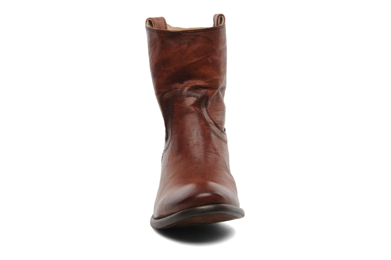 Stiefeletten & Boots Frye Carson Tab short braun schuhe getragen