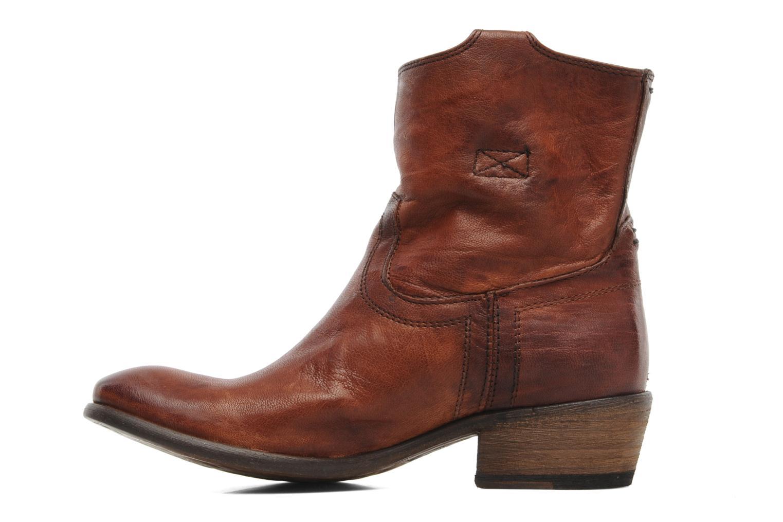Stiefeletten & Boots Frye Carson Tab short braun ansicht von vorne
