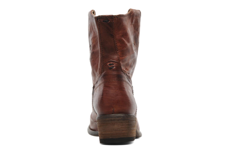 Stiefeletten & Boots Frye Carson Tab short braun ansicht von rechts