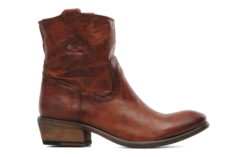 Stiefeletten & Boots Frye Carson Tab short braun ansicht von hinten