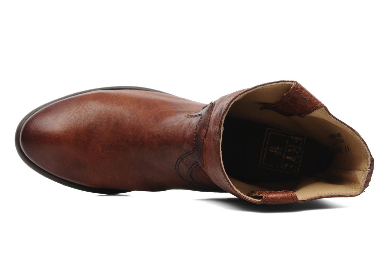Stiefeletten & Boots Frye Carson Tab short braun ansicht von links