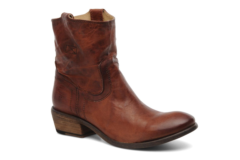 Stiefeletten & Boots Frye Carson Tab short braun detaillierte ansicht/modell