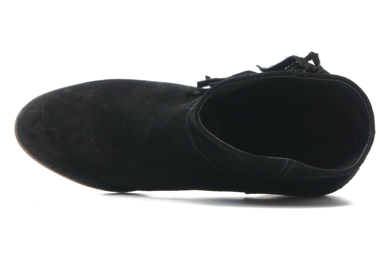 Capri LE2147 Suede Velour Black
