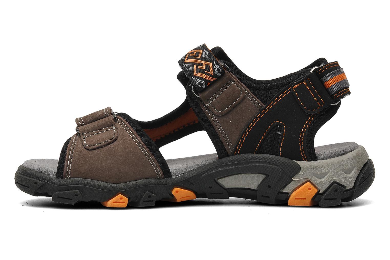 Sandalen Superfit Stonu braun ansicht von vorne