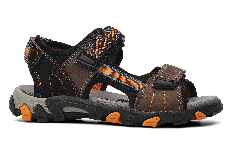 Sandalen Superfit Stonu braun ansicht von hinten