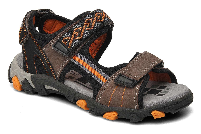 Sandalen Superfit Stonu braun detaillierte ansicht/modell