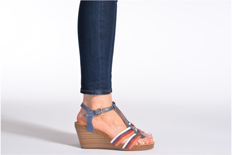 Sandales et nu-pieds Pikolinos BENISSA 868-7307 Multicolore vue bas / vue portée sac